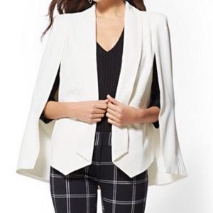 New York and company white open blazer